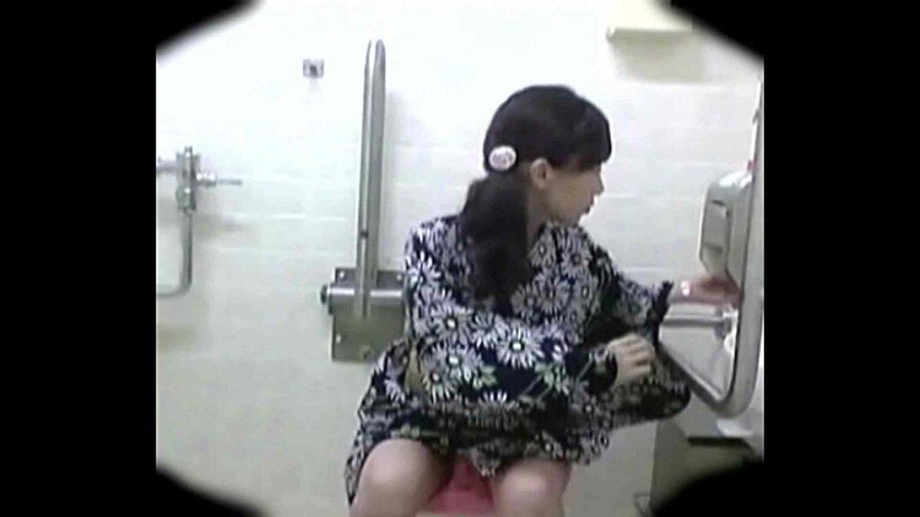 teen galトイレ覗き紙がナイ編‼vol.01 浴衣 | トイレ  42連発
